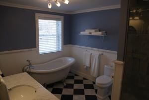 chalet en location - salle de bain