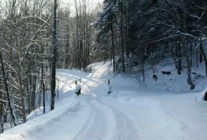 Chalet en location - Sentier de motoneige